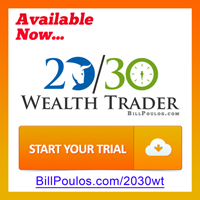 Bill Poulos 2030 Wealth Trader  - Signup